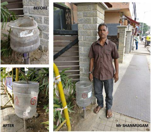 Mr. Shanmugam - A Friend of the Foundation