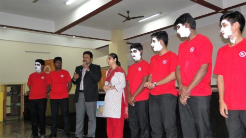 A Memorable Morning  : Road Safety Awareness Session and Prize Distribution