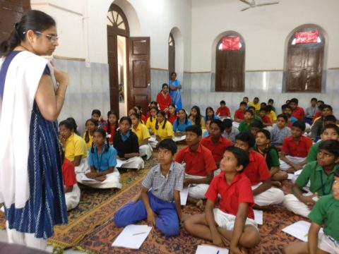Classroom with a Cause: At the HBP Indian School