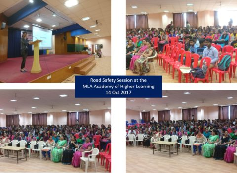 Road Safety at MLA Academy of Higher Learning