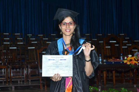Dr. Aswathy Ashok Menon - Winner of The Dr. Arundhati Tambwekar Award for Excellence in Pathology, 2017